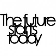 DekoSign Napis na ścinę THE FUTURE STARTS TODAY TFST1-1