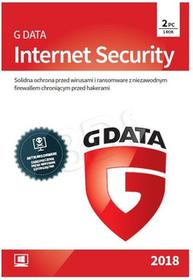 GData Internet Security BOX 2PC 1 ROK 2018 OPRGDTOAV0367