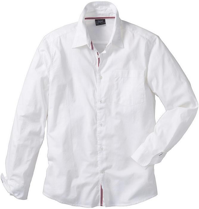 b27b9e197e620d Bonprix Koszula z długim rękawem Regular Fit biały – ceny, dane techniczne,  opinie na SKAPIEC.pl