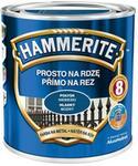 Hammerite Farba do metalu Prosto Na Rdzę połysk niebieski 0 7 l