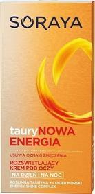 Soraya Taurynowa Energia Krem pod oczy rozświetlający na dzień i noc 15ml
