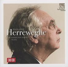 Philippe Herreweghe The Harmonia Mundi Years, 30 CD Philippe Herreweghe