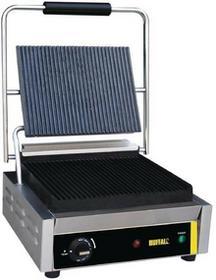 Buffalo Grill kontaktowy żeliwny pojedyńczy ryflowany   2200W 903