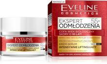 Eveline Ekspert Odmłodzenia 55+ 50 ml Krem-serum intensywnie liftingujący na dzień i noc DARMOWA DOSTAWA DO KIOSKU RUCHU OD 24,99ZŁ