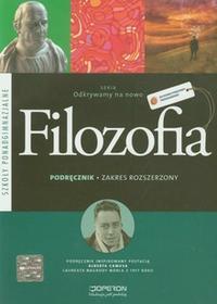 Gajewska Magdalena, Sobczak Krzysztof Filozofia 1 LO Podręcznik Zakres rozszerzony