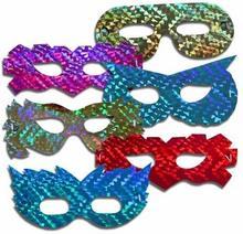 Maska holograficzna op=6szt 0400