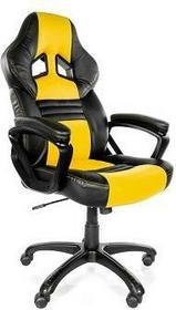 AROZZI Monza - Fotel gamingowy - żółto czarny MONZA-YL