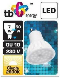 TB Energy Żarówka LED GU10 7W 230V  LLTBEGUS0700001