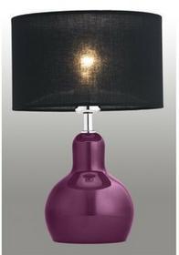 Argon Lampa biurkowa LOARA 3041 1pł chrom Fioletowy czarny
