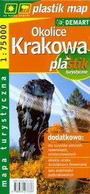 Demart praca zbiorowa Okolice Krakowa. Mapa turystyczna w skali 1:75 000