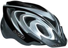 Lazer X3M kask rowerowy MTB czarno-srebrny
