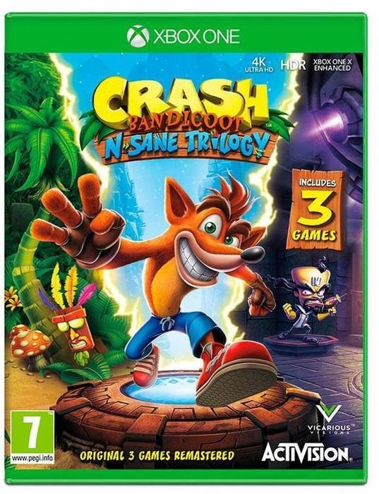 Crash Bandicoot N Sane Trilogy XONE