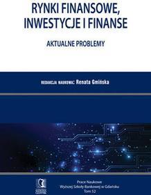 Rynki finansowe, inwestycje i finanse