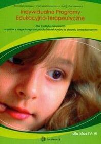 Harmonia Indywidualne programy edukacyjno-terapeutyczne dla II etapu nauczania uczniów z niepełnosprawnością intelektualną w stopniu umiarkowanym - Renata Napr