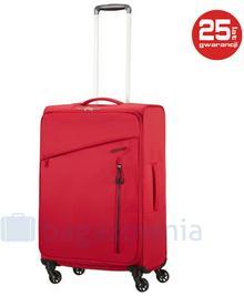 Samsonite AT by Średnia walizka AT LITEWING 89459 Czerwona - czerwony