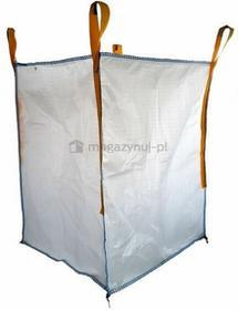 Worek wielkogabarytowy BIG BAG 8. 4 uchwyty, wym. 900x900x1200mm (Ładowność 1000 kg)