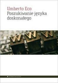 Aletheia Umberto Eco Poszukiwanie języka doskonałego w kulturze europejskiej