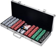 500Dice Style 11.5G Poker Chip SetRetail Ready.