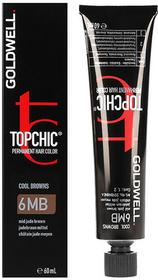 Goldwell Topchic, farba do włosów 6MB Mid Jade Brown, 60 ml