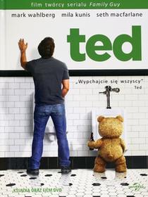 Filmostrada Ted DVD + książeczka Seth MacFarlane