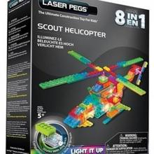 Laser Pegs 8 in 1 Scout Helicopter PB2150B