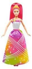 Mattel Barbie Tęczowa Księżniczka ze Światełkami DPP90