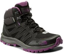 The North Face Trekkingi Litewave Fastpack Mid Gtx GORE-TEX T92Y8PRJS Tnf Black/Wood Violet