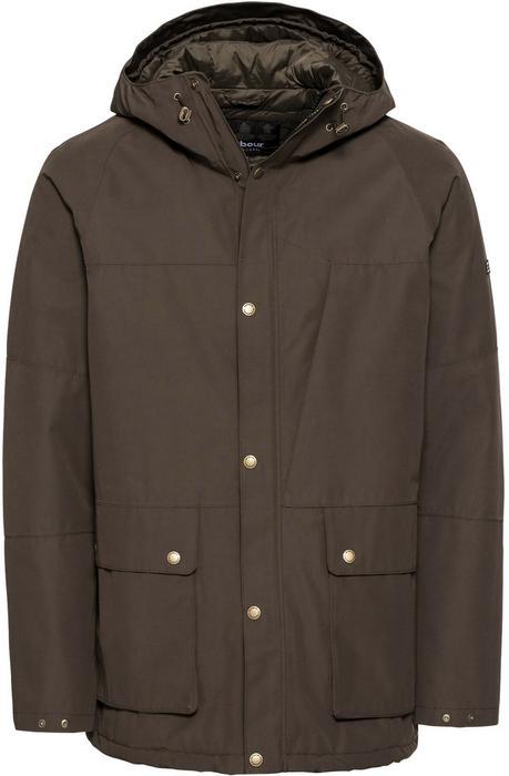 Barbour International Kurtka zimowa 'Ridge Jacket' Oliwkowy