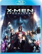 X-Men Apocalypse 3D Blu-Ray + Blu-Ray 3D