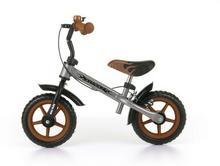 Milly Mally Rowerek biegowy Dragon z hamulcem brown-silve