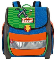 Scout Tornistry Buddy Street Soccer, zielony 49200198800