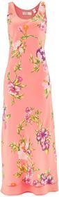 Bonprix Sukienka jasnoróżowy łososiowy w kwiaty