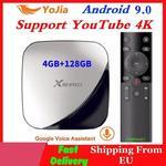 Android 9.0 TV, pudełko 4GB RAM Max 128GB ROM 64GB RK3318 4 rdzeń 5G podwójny Wifi 2G16G dekoder