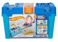 Mattel Hot Wheels Zestaw Kaskaderski Pętle Skrzynka FLK89