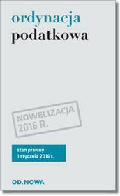 od.nowa Ordynacja podatkowa - Od.Nowa