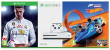 Microsoft Xbox One S 500 GB Biała + Fifa 18 + Forza Horizon 3 + Hot Wheels