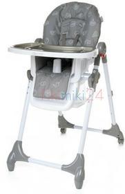 4Baby Krzesełko do karmienia DECCO szare 764725