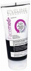 Eveline COSM Facemed+ oczyszczający żel do mycia twarzy z aktywnym węglem 150 ml