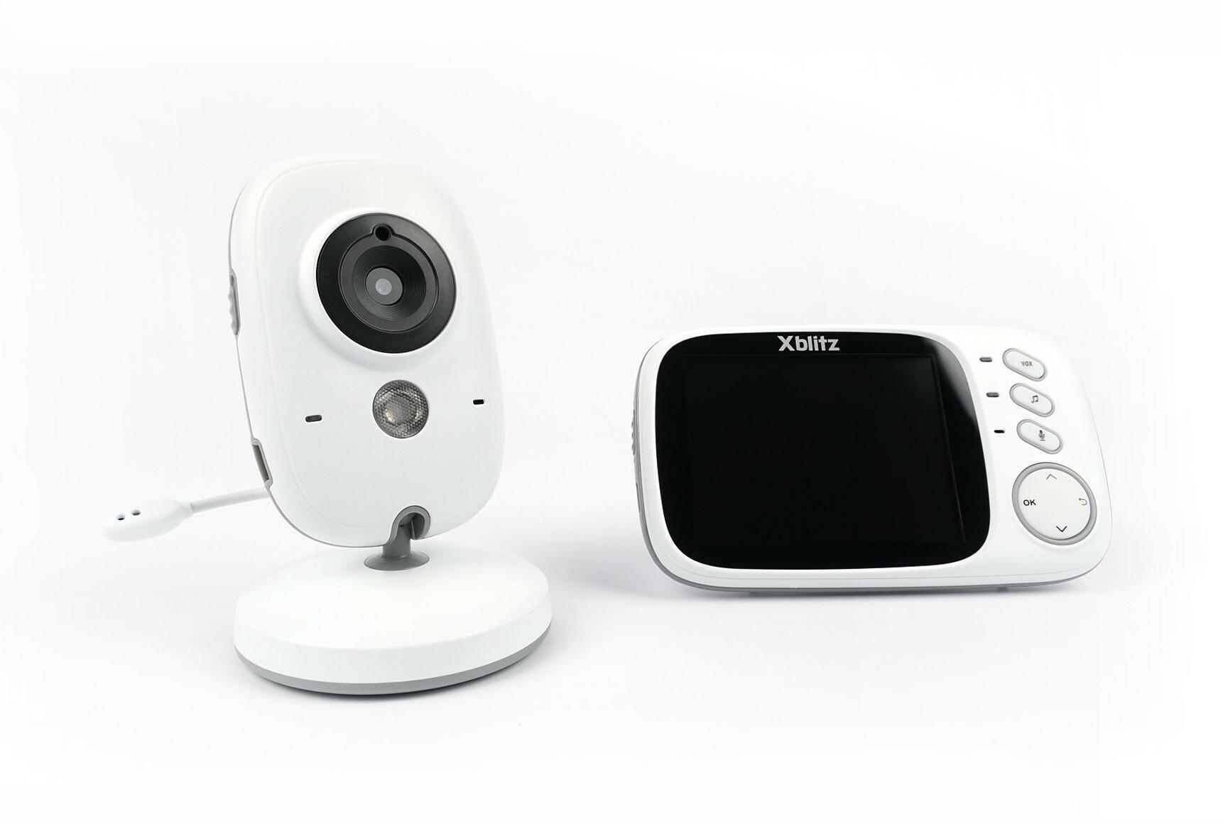 Xblitz Niania elektroniczna KINDER z kamerą - bezprzewodowa