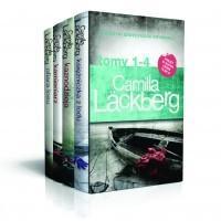 Czarna Owca Pakiet Lackberg. Księżniczka z lodu, Kaznodzieja, Kamieniarz, Ofiara losu - Camilla Lackberg