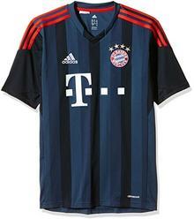 Adidas koszulka z logo FC Bayern Monachium 2013/2014, dziecięca, niebieski G92269