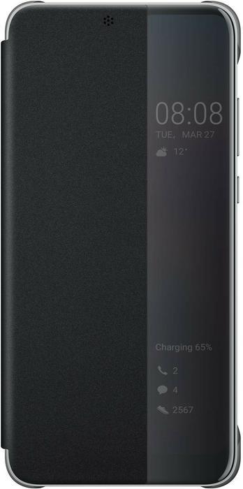 Huawei Etui z Klapką Typu Smart do P20 czarny