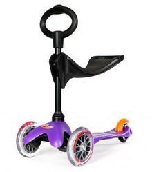 Micro Hulajnoga/jeździk Mini Baby 3w1 fioletowa