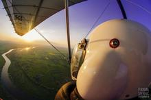Lot motolotnią Zielona Góra