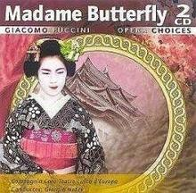 Giacomo Puccini Madame Butterflay CD Płyta CD)