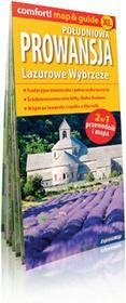 ExpressMap praca zbiorowa comfort! map&guide XL Prowansja południowa. Lazurowe Wybrzeże. Laminowany map&guide XL