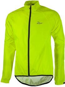 Rogelli TELLICO kurtka rowerowa przeciwdeszczowa fluor żółty