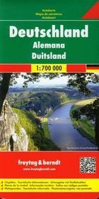 Freytag&berndt Niemcy mapa drogowa 1:700 000 - Freytag & Berndt