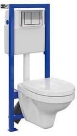 Cersanit Zestaw podtynkowy WC MORENA
