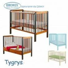 Drewex łóżeczko 120x60 Tygrys z funkcją tapczanika 98F1-42788